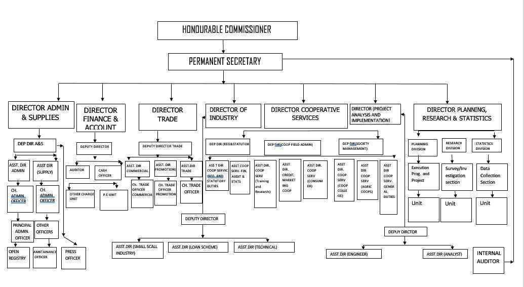 M Trade Organogram