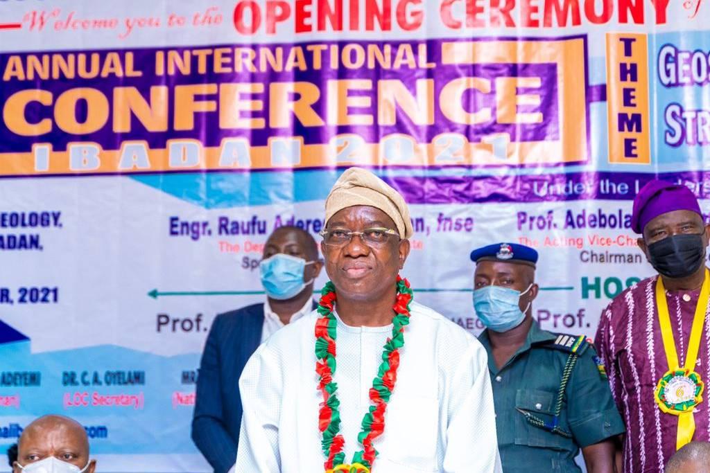 NAEGE Induct Oyo Deputy Gov Engr. Rauf Olaniyan